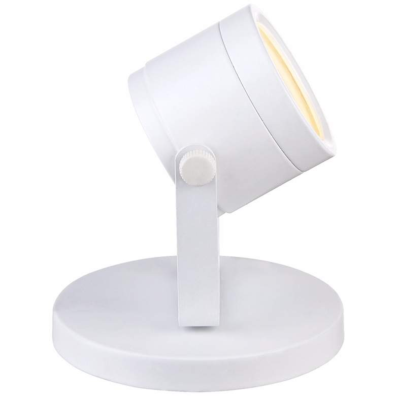 "Ladera 5"" High LED Accent-Uplight in White more views"