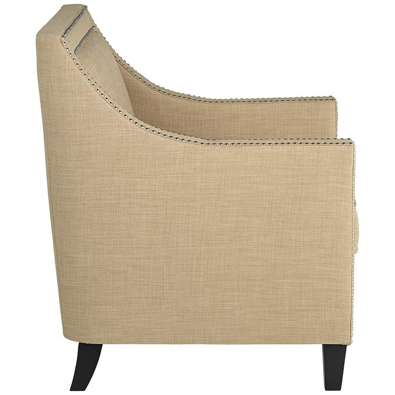 Flynn Heirloom Camel Upholstered Armchair more views
