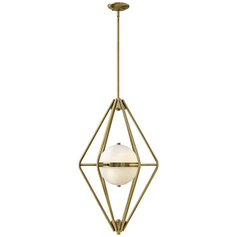 "Spectra 18"" Wide Retro Brass Chandelier more views"