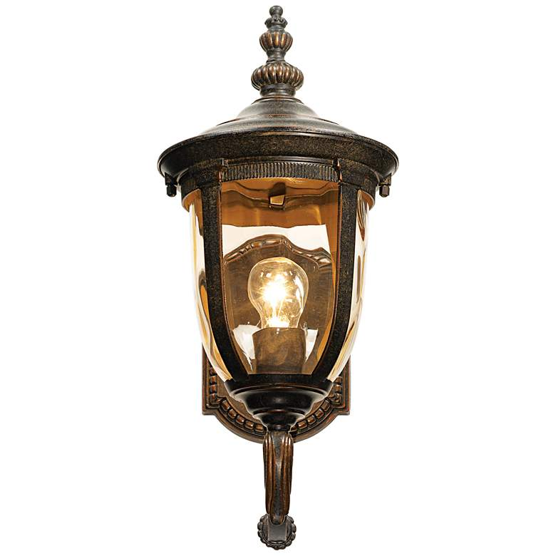 "Bellagio 16 1/2"" High Bronze Upbridge Arm Outdoor Wall Light more views"