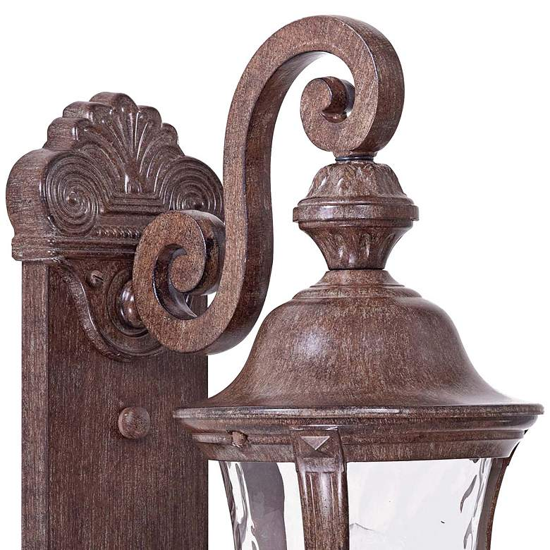 "Ardmore 19 3/4"" High Rust Outdoor Wall Light more views"