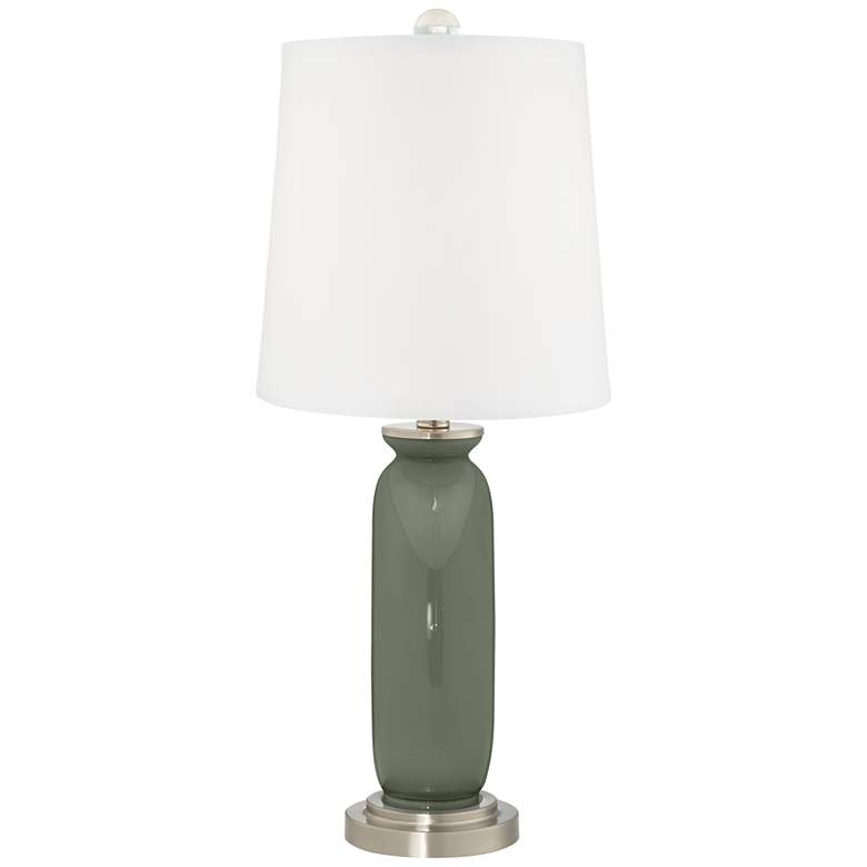 Deep Lichen Green Carrie Table Lamp Set of 2 more views