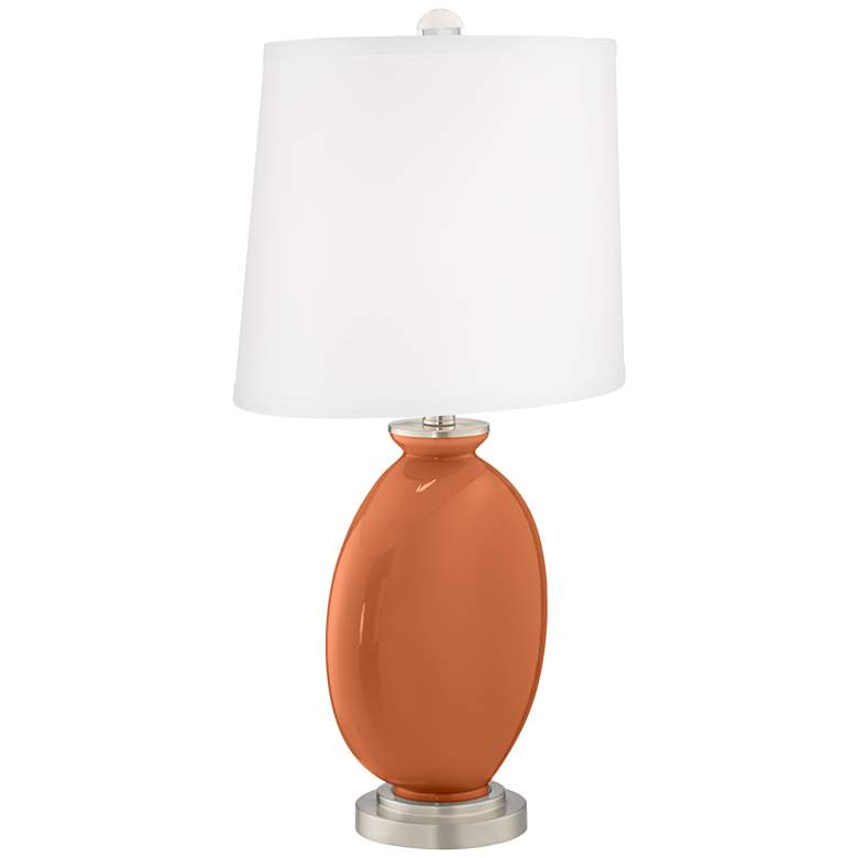 Robust Orange Carrie Table Lamp Set of 2 more views