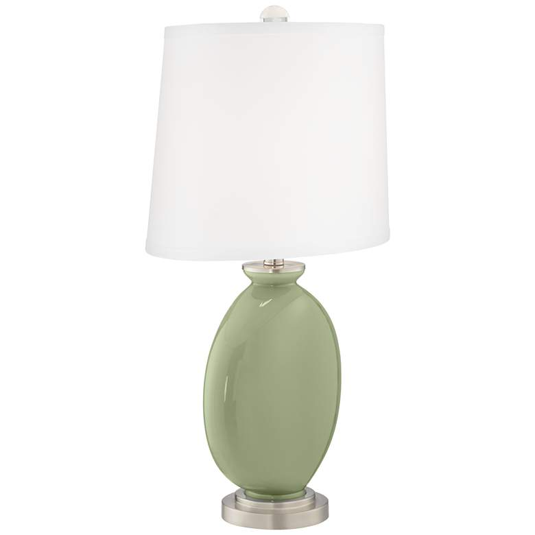 Majolica Green Carrie Table Lamp Set of 2 more views