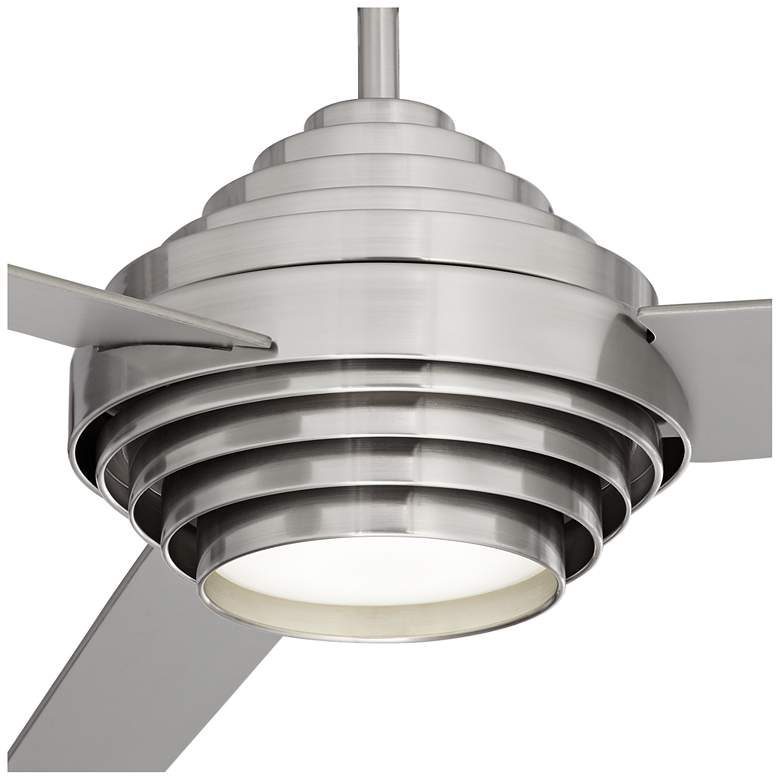 "60"" Casa Vieja® Devo Brushed Nickel LED Ceiling Fan more views"