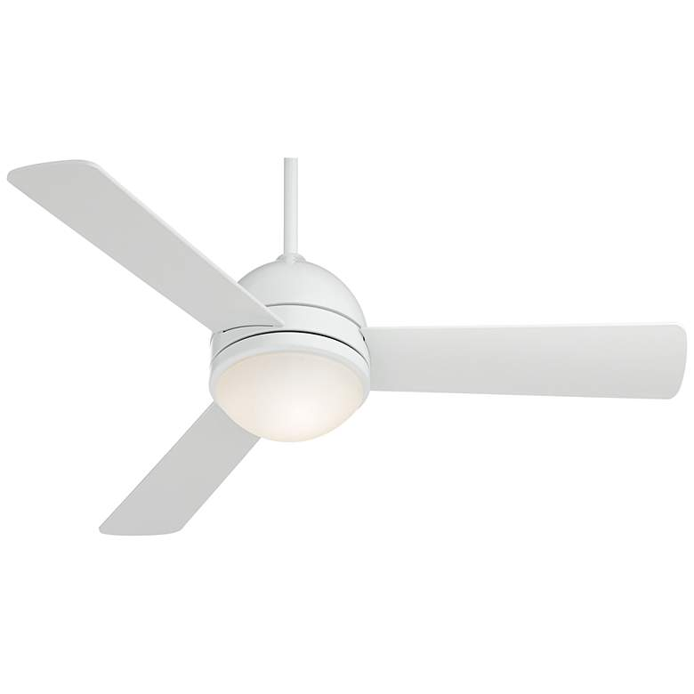 "44"" Casa Vieja Trifecta™ White LED Ceiling Fan more views"