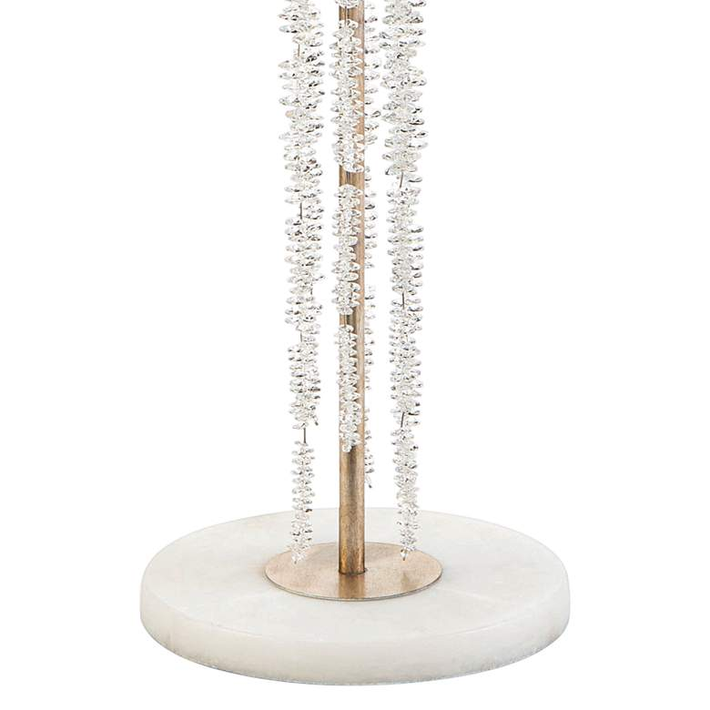 John Richard Cascading Crystal Waterfall Floor Lamp more views