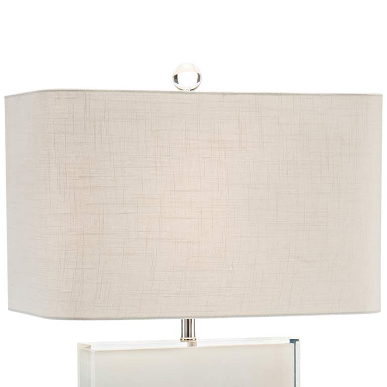 John Richard Dune Tan and Off-White Table Lamp more views
