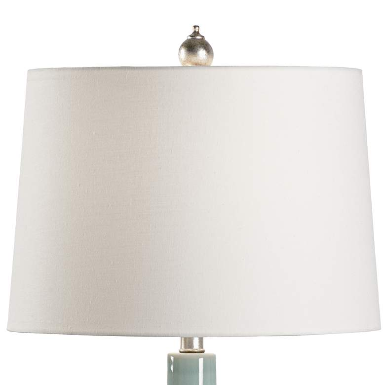 Wildwood Lilla Aquaverde Glaze Ceramic Table Lamp more views