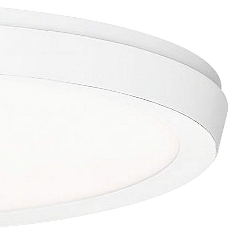 "Modern Forms Argo 11"" Wide White LED Ceiling Light more views"