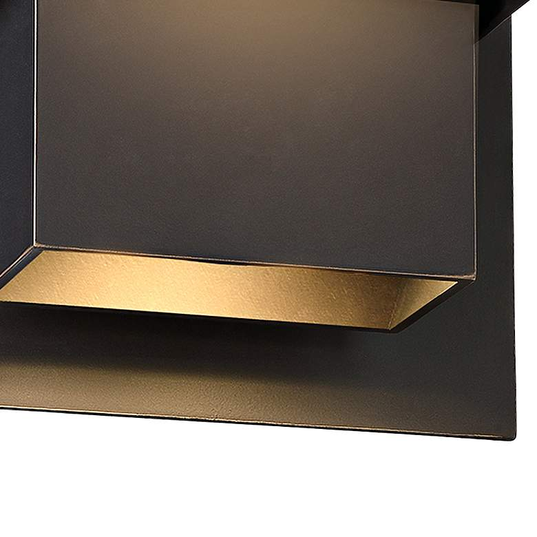 "Modern Forms Pandora 9"" High Bronze LED Outdoor Wall Light more views"