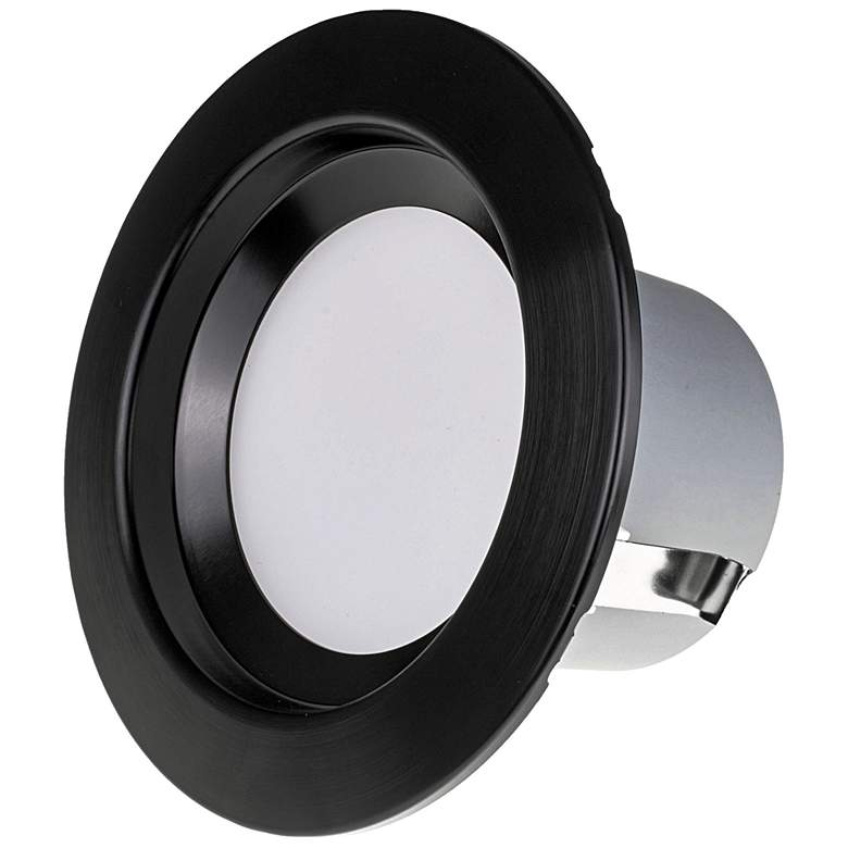 "Nicor DCR 4"" Black LED Recessed Retrofit Downlight more views"