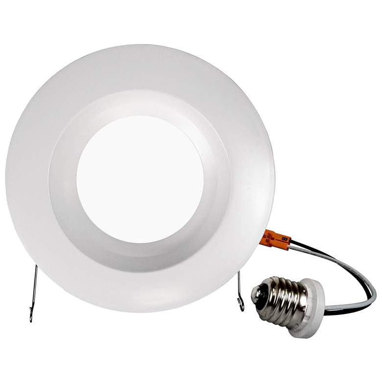 "Nicor DCR 5""/6"" White 10.5 Watt LED Retrofit Downlight more views"