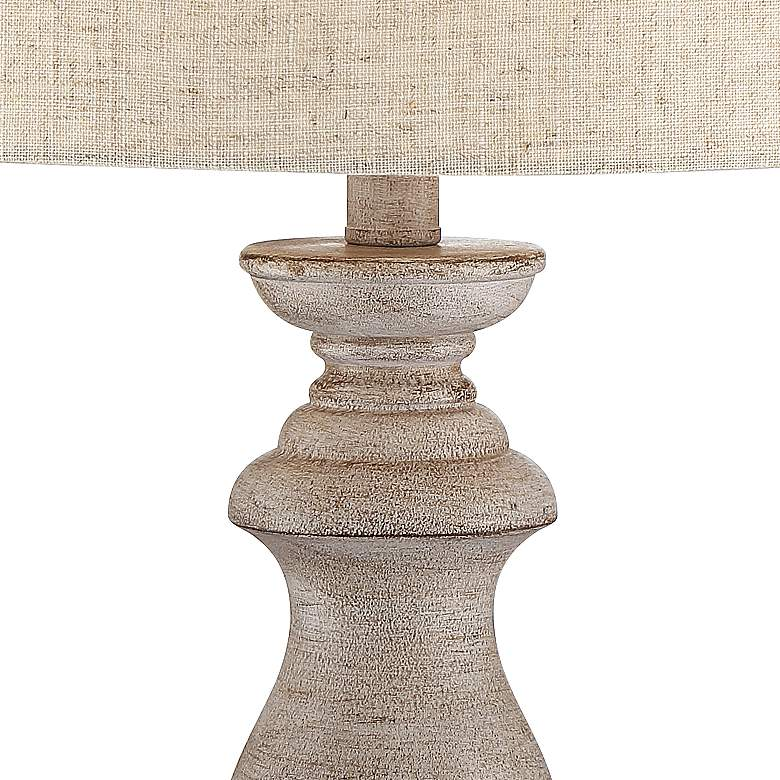 Patsy Beige Washed Table Lamps Set of 2 more views