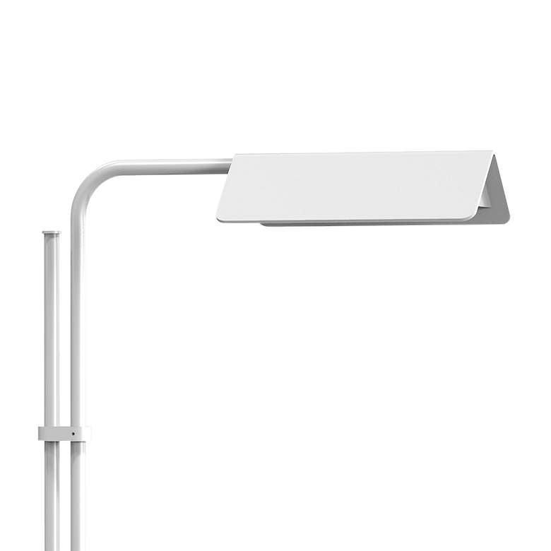 Sonneman Morii Satin White Adjustable LED Floor Lamp more views