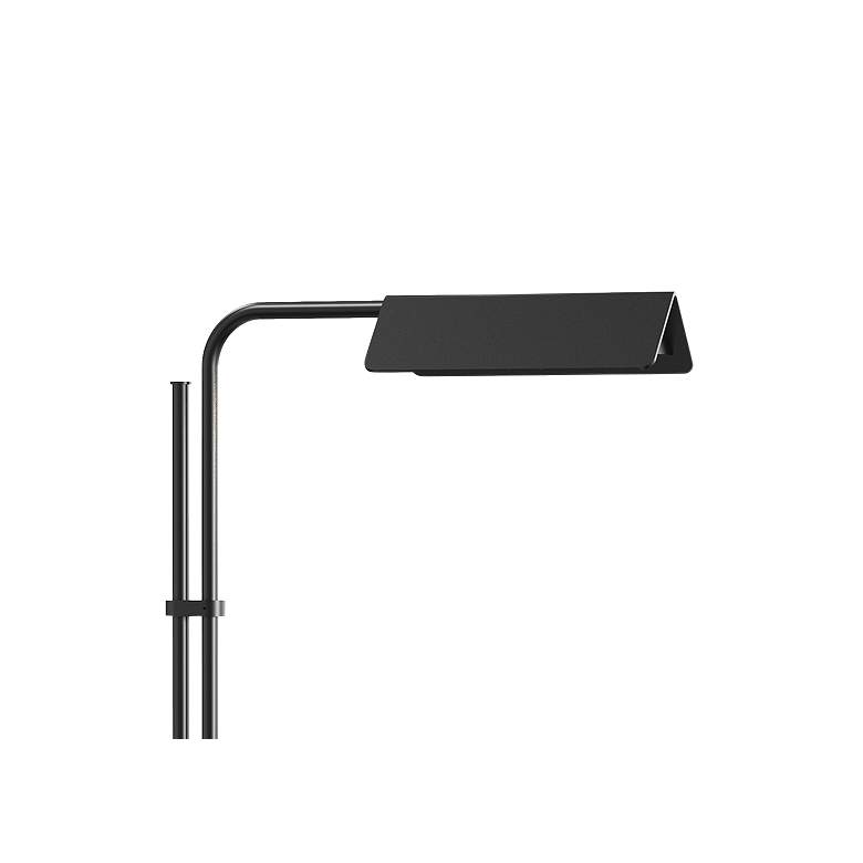 Sonneman Morii Satin Black Adjustable LED Floor Lamp more views