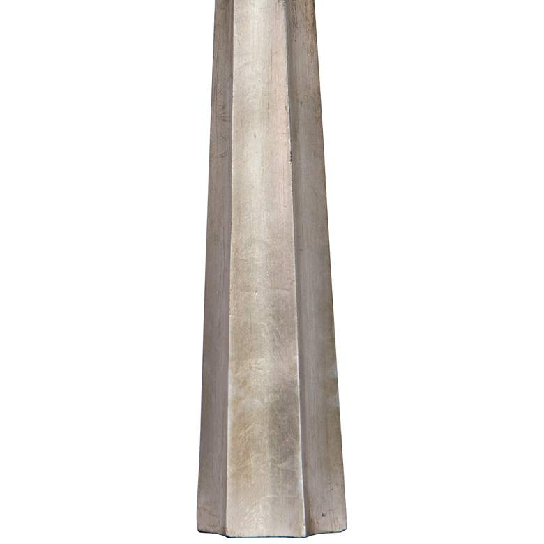 Regina Andrew Design Celine Ambered Silver Leaf Table Lamp more views