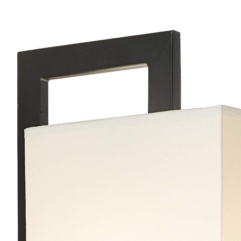 Possini Euro Floating Square LED Plug-In Wall Light more views