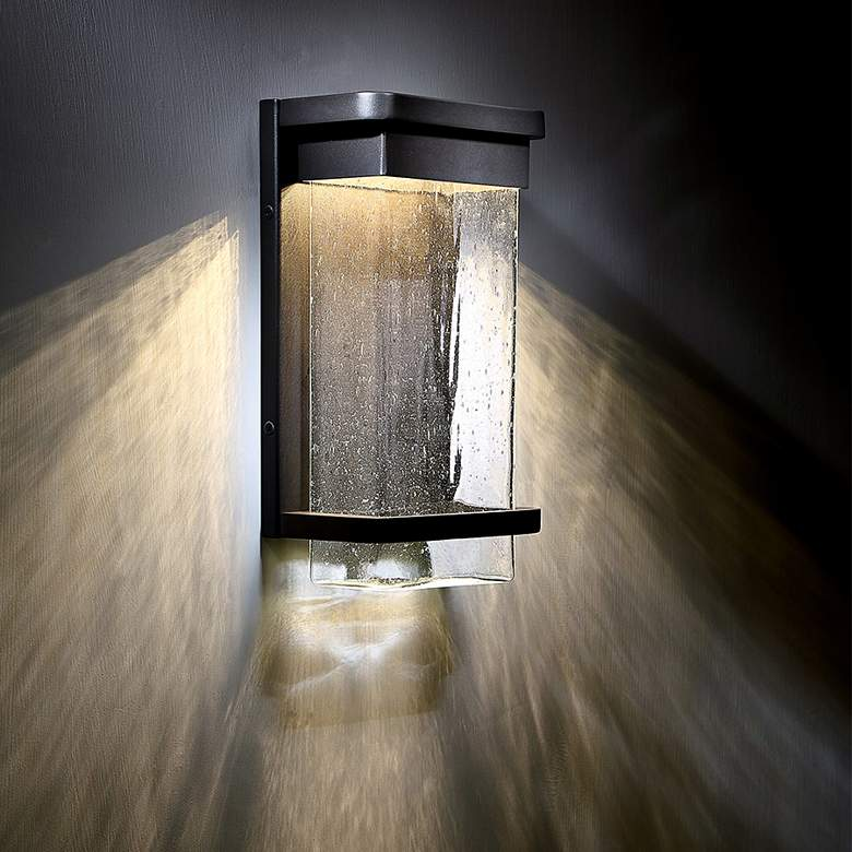 "Modern Forms Vitrine 16"" High Bronze LED Outdoor Wall Light more views"