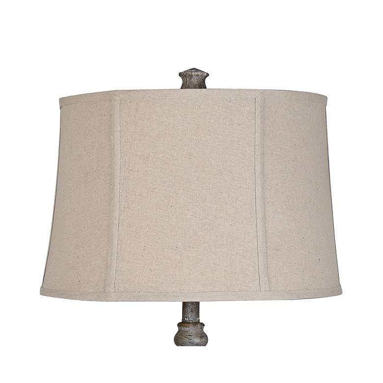 Crestview Collection Ridgeline Antique Gray Table Lamp more views