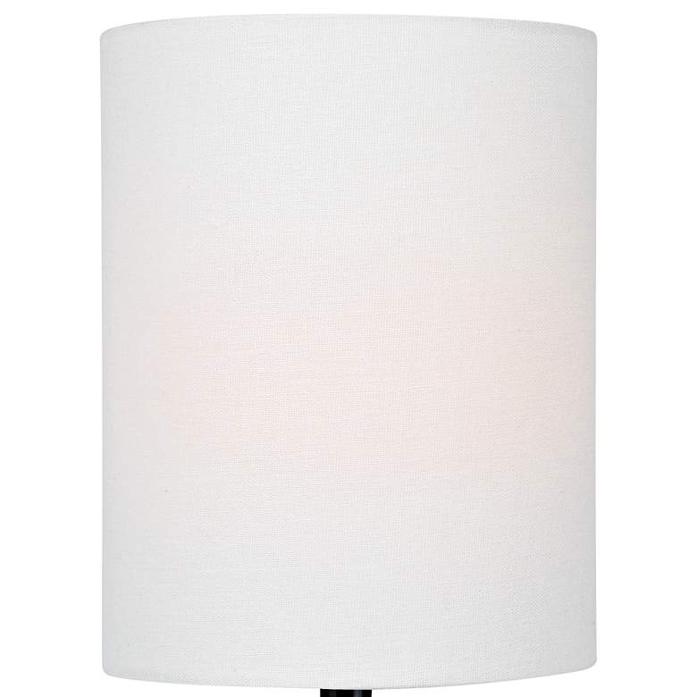"Lite Source Delta 17"" High White Ceramic Accent Table Lamp more views"