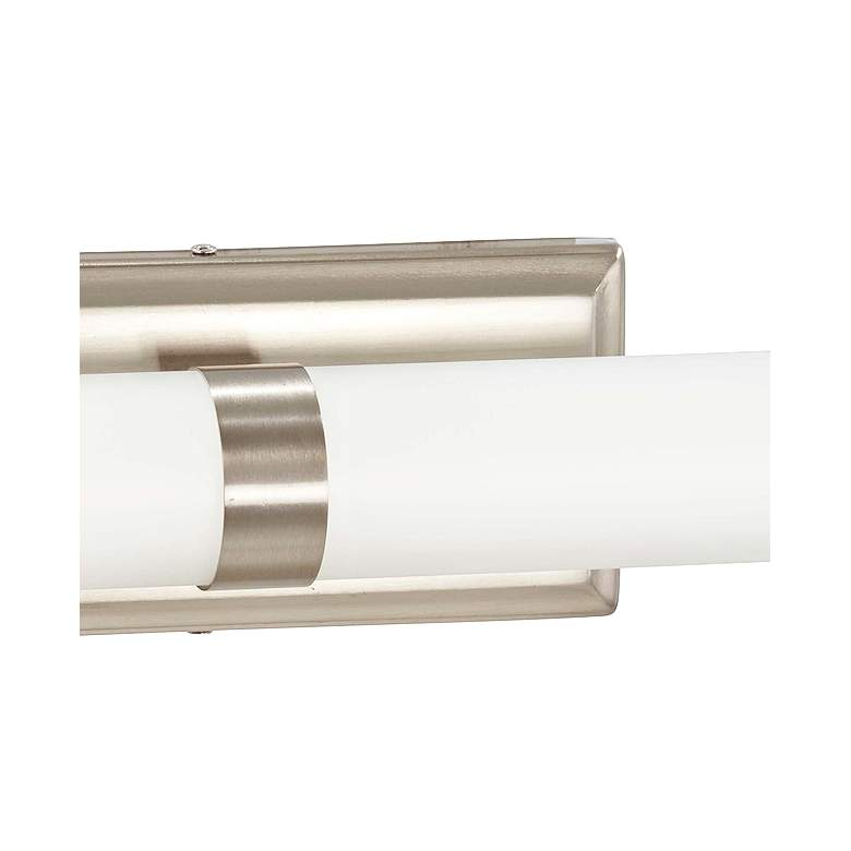 "George Kovacs 20 1/4""W Brushed Nickel LED Bath Light more views"