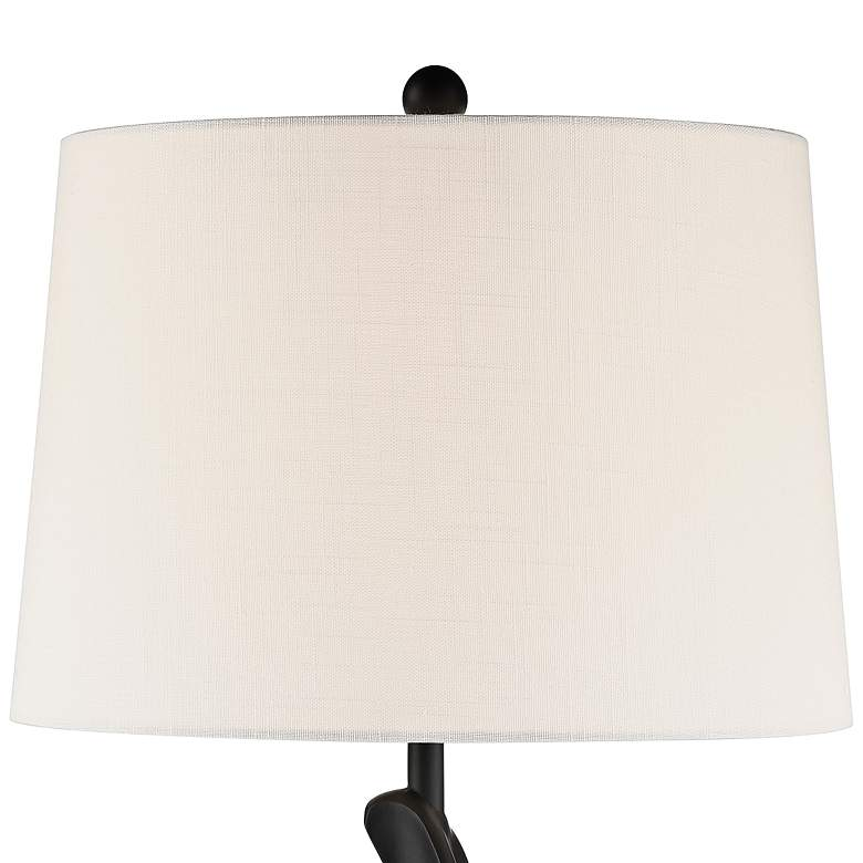 Lite Source Svolta Black Table Lamp more views