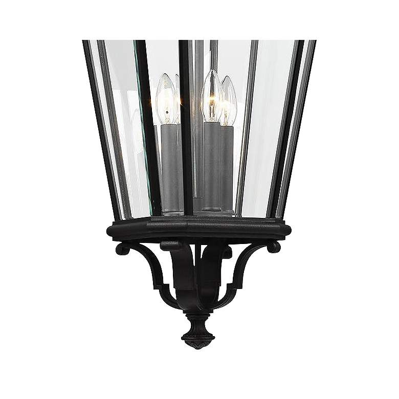 "Cotswold Lane 31"" High Black and Beveled Glass Hanging Light more views"