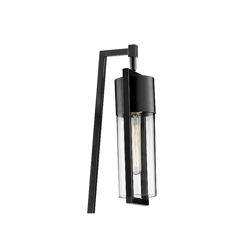 "Lite Source Norman 66 1/2""H Black Finish Modern Floor Lamp more views"