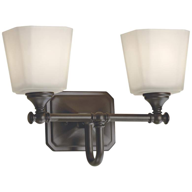 "Feiss Concord 10 1/4""H Oil-Rubbed Bronze 2-Light Wall Sconce more views"