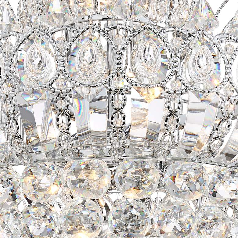 "Calylah 21 1/2"" Wide Chrome and Crystal Chandelier more views"