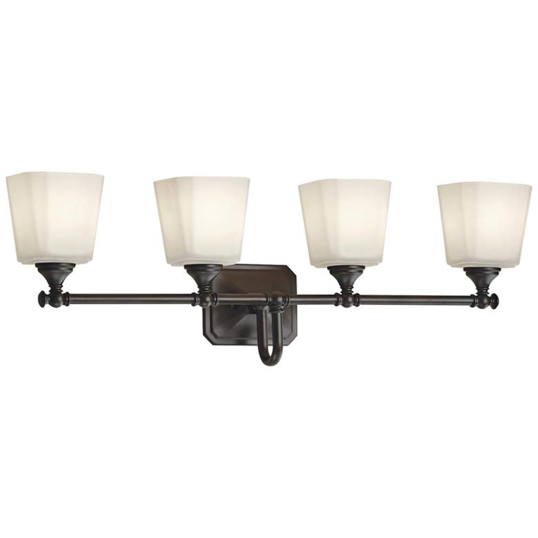 "Feiss Concord 30"" Wide Oil-Rubbed Bronze 4-Light Bath Light more views"