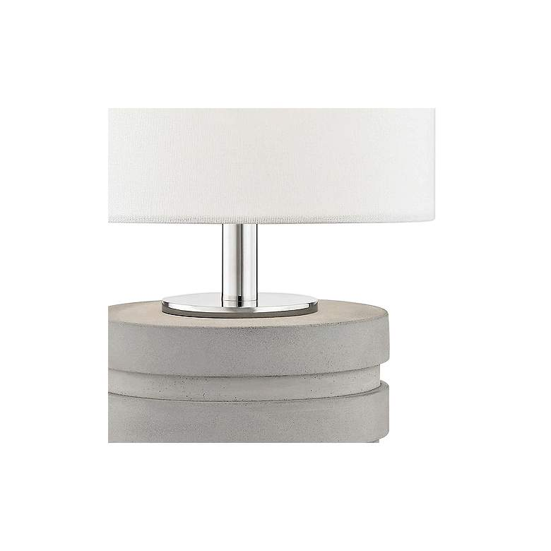 Mitzi Iris Polished Nickel Table Lamp more views
