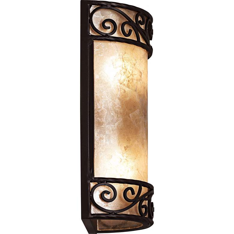 "Natural Mica Collection 12 1/2"" High LED Wall Sconce more views"