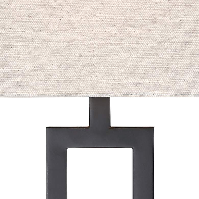 Aston Black Modern Table Lamp Set of 2 more views