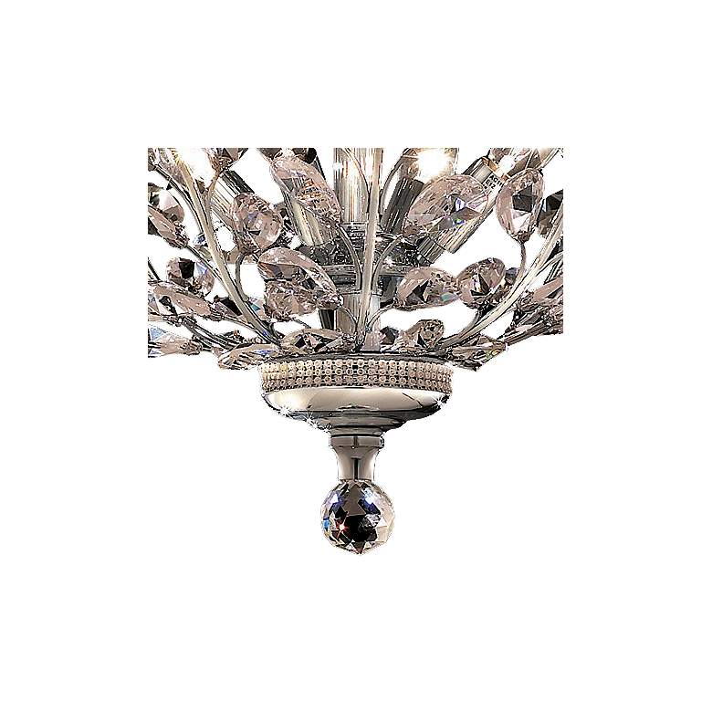 "Orchid 20"" Wide Chrome 4-Light Ceiling Light more views"