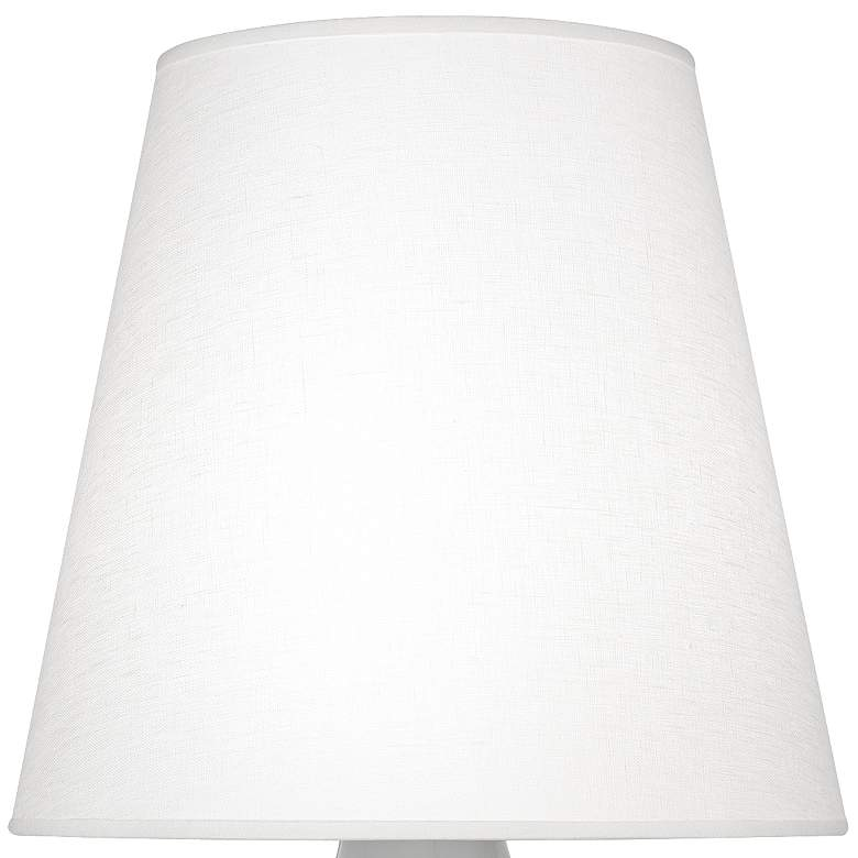 June Smokey Taupe Accent Table Lamp with Oyster Linen Shade more views