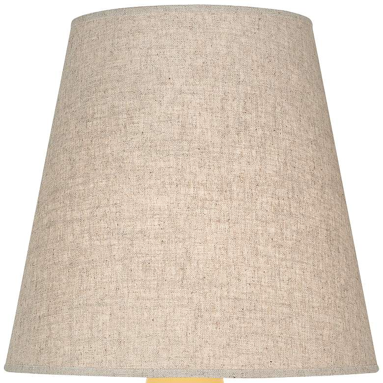 Robert Abbey June Sunset Table Lamp with Buff Linen Shade more views