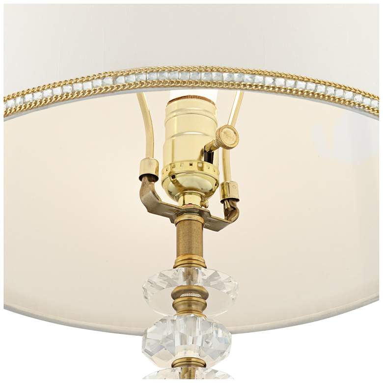 Flora Gold and Crystal Table Lamp by Vienna Full Spectrum more views