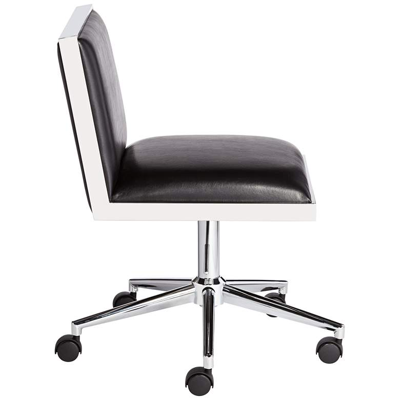 Emario Aspen Black Modern Adjustable Swivel Office Chair more views
