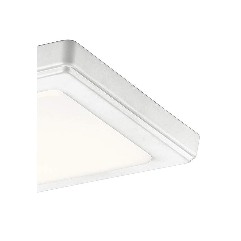 "Kichler Zeo 7"" Wide Square White 4000K LED Ceiling Light more views"
