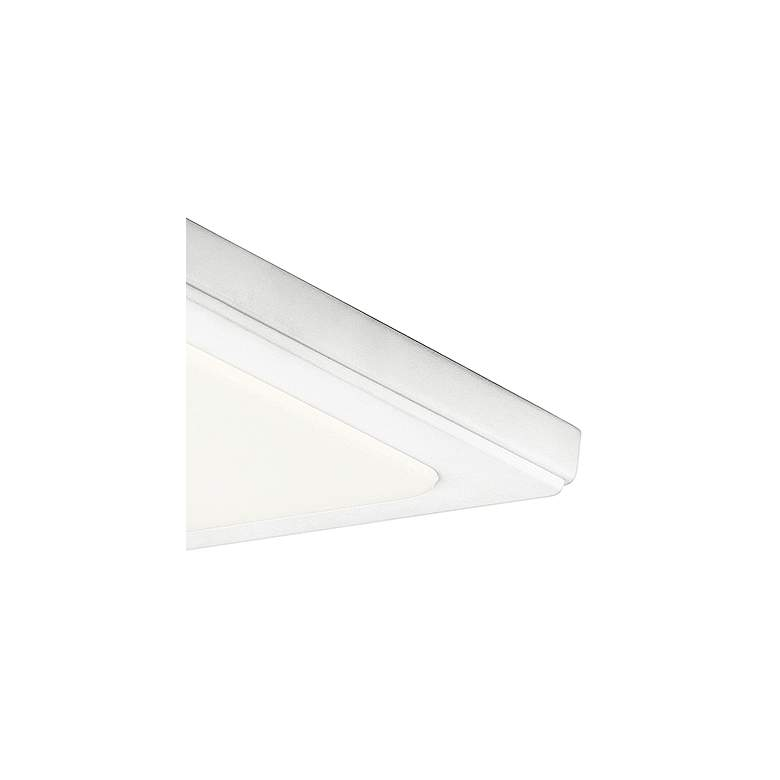 "Kichler Zeo 10"" Wide Square White 3000K LED Ceiling Light more views"