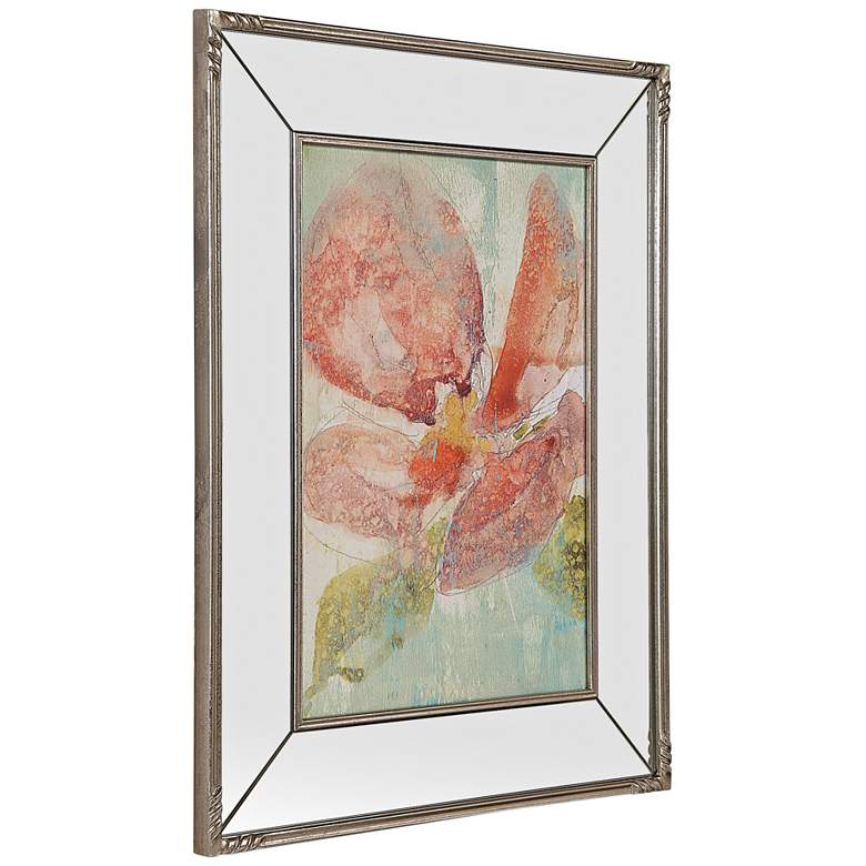 "Uttermost Veiled Poppy 39 1/4"" High Framed Wall Art more views"