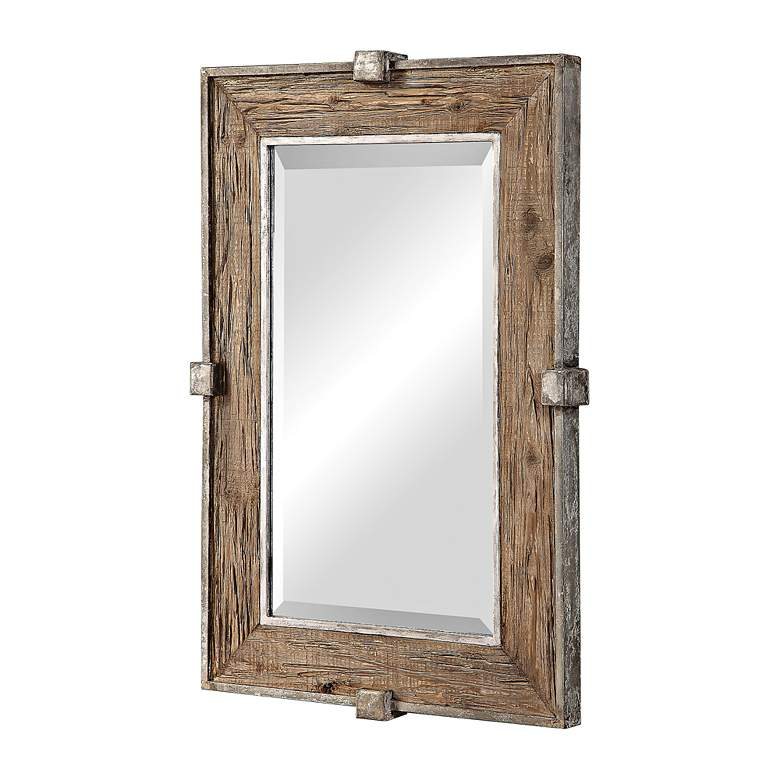 "Uttermost Siringo Natural 25 1/4"" x 37 1/4"" Wall Mirror more views"