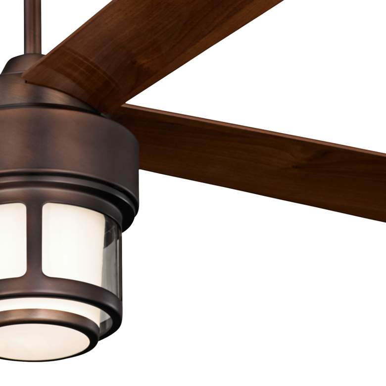 "52"" Casa Vieja Tercel Bronze LED Outdoor Ceiling Fan more views"