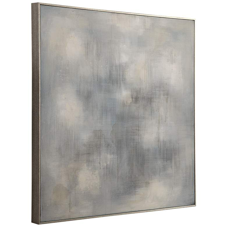 "Uttermost Foggy 36 3/4"" Square Framed Canvas Wall Art more views"