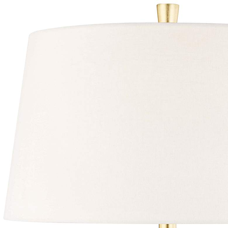 "Hudson Valley Bowdoin 14 3/4"" High Ebony Accent Table Lamp more views"