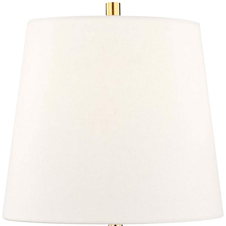 "Hudson Valley Henley 13 1/2"" High Clear Accent Table Lamp more views"