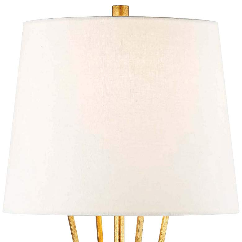 Hudson Valley Hurley Gold Leaf Table Lamp more views