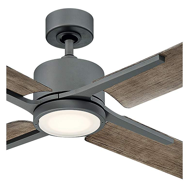 "56"" Modern Forms Cervantes Graphite LED Outdoor Ceiling Fan more views"